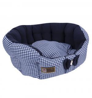 Лежанка для кошек  Каприз, цвет: синий, 45*45*15см Зоогурман
