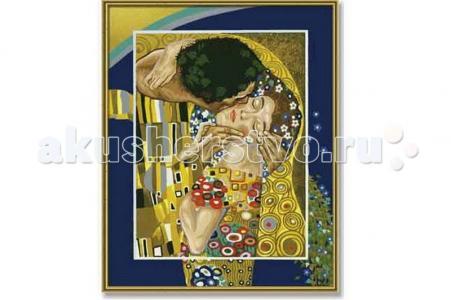 Картина по номерам Репродукция Поцелуй Густав Климт 40х50 см Schipper