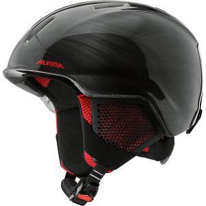 Зимний шлем  CARAT LX black-lumberjack Alpina. Цвет: черный