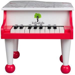 Детский рояль Kids4kids Волшебные ноты, 18 клавиш. Цвет: разноцветный