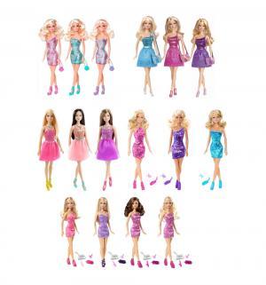 Кукла  Сияние моды Брюнетка в розовом платье Barbie