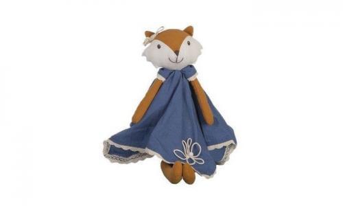Мягкая игрушка  Мягконабивная кукла лиса Luca 50 см Bonikka