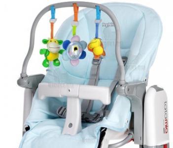 Комплект для стульев  Tatamia и Prima Pappa Newborn, цвет: голубой Peg-Perego