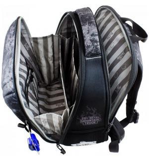 Ранец школьный  с мешком и часами 30х17х37 см De Lune