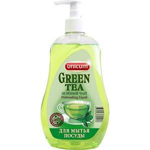 Средство для мытья посуды  Зелёный чай, 550 мл Unicum
