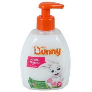 Крем-мыло для тела  с подорожником эхинацеей и д-пантенолом, 300 мл My Bunny