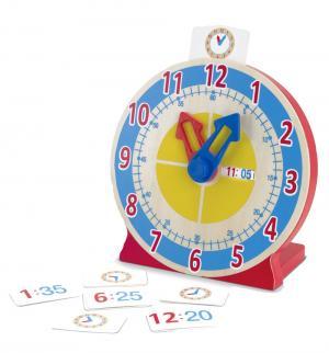 Часы  с карточками-заданиями 24 см Melissa&Doug