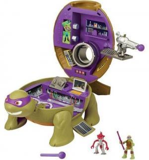 Игровой набор  Микро-мутанты Лаборатория Донни Черепашки Ниндзя