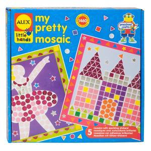 Мозаика для малышей  Прелесть 5 картинок Alex