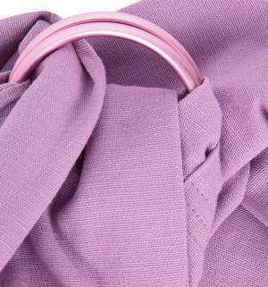 Mums Era Слинг с кольцами, цвет: розовый Mum's