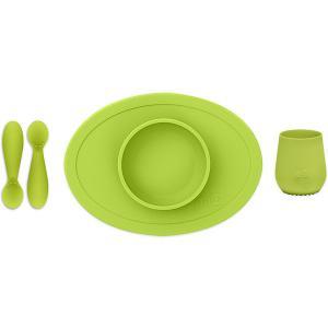 Набор посуды  First Food Set лайм Ezpz