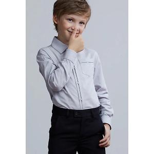 Рубашка Silver Spoon. Цвет: серый