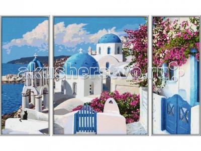 Триптих Санторини 50х80 см Schipper