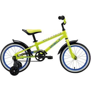 Двухколёсный велосипед  Dingo 16, жёлтый Welt. Цвет: разноцветный