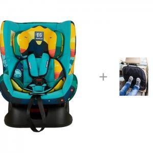 Автокресло  GE-B и Защита сиденья из ткани АвтоБра Farfello
