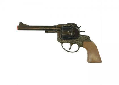 Пистолет Super Cowboy 12-зарядные Gun Western 230mm Sohni-wicke