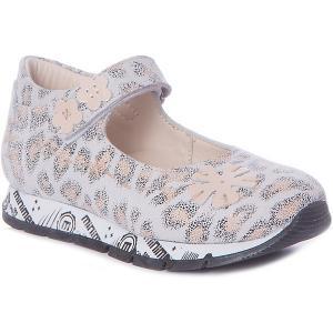 Туфли  для девочки Minimen. Цвет: желтый