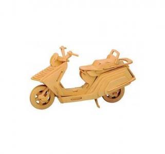 Деревянный конструктор  Мотороллер Wooden Toys
