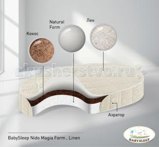 Матрас  Form Linen 125x75 см Babysleep