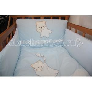 Комплект в кроватку  Belino (6 предметов) Tuttolina