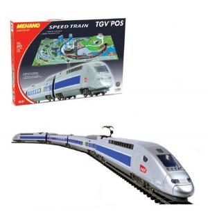 Железная дорога  TGV POS с ландшафтом Mehano