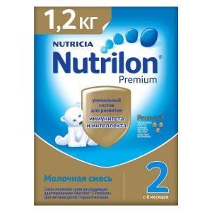 Молочная сместь  Premium 2 с 6 месяцев Nutrilon