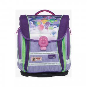 Школьный рюкзак Дельфины MC Neill  ERGO Light COMPACT McNeill. Цвет: лиловый