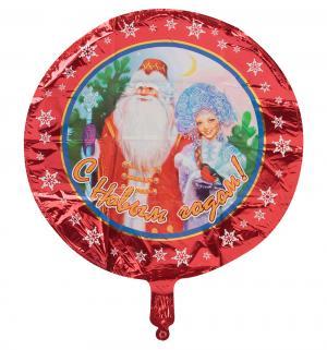 Фольгированная фигура  Дед Мороз и Снегурочка 45 см Патибум