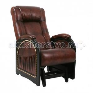 Кресло для мамы  Глайдер Венге с лозой МИ 48 Комфорт