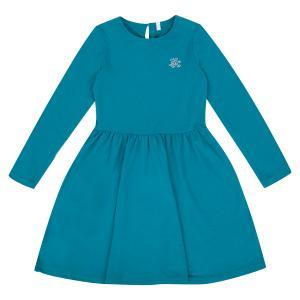 Платье , цвет: бирюзовый Leader Kids