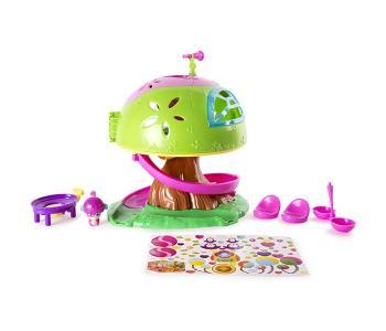 Малыши-прыгуши Игровой набор Дом на дереве Popples