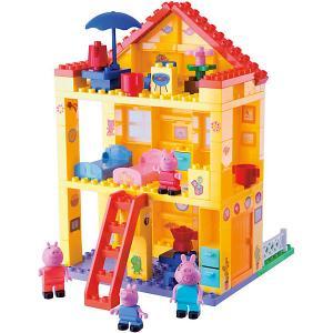 Конструктор Любимый дом, Свинка Пеппа, 107 деталей BIG