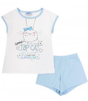 Пижама Маленький принц. Цвет: голубой
