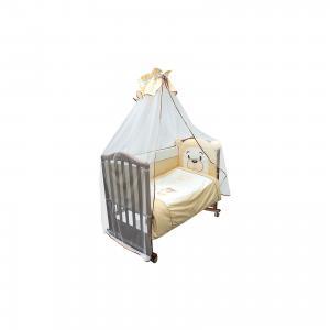 Комплект в кроватку 6 предметов , Умка, бежевый Сонный гномик