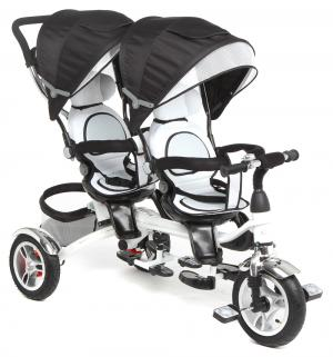 Детский трехколесный велосипед  Twin Trike 360, цвет: graphite Capella