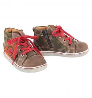 Ботинки , цвет: коричневый/зеленый Imac