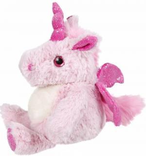 Мягкая игрушка  Единорог, цвет: розовый 18 см Fluffy Family