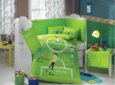 Комплект в кроватку  Soccer 100х150 см (10 предметов) Hobby Home Collection
