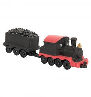 Игровой набор  Паровозик Пит с вагончиком Chuggington