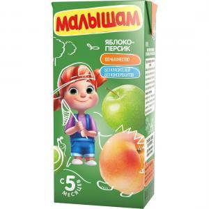 Нектар  яблоко-персик, 330 мл ФрутоНяня Малышам