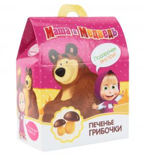 Печенье  Грибочки с шоколадом и игрушкой, 42 г, 1 шт Конфитрейд