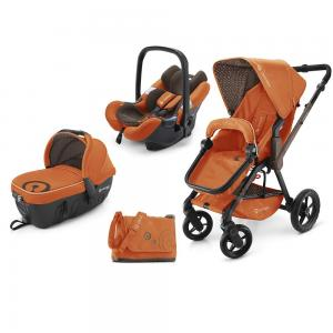 Коляска 3 в 1  Wanderer Travel Set, цвет: rusty orange 2015 Concord