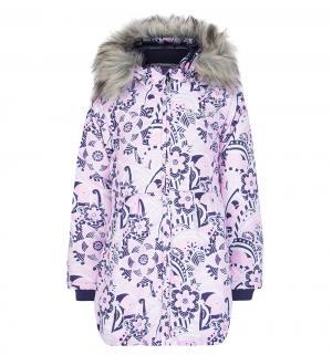 Куртка  Зимние звезды, цвет: розовый Reike