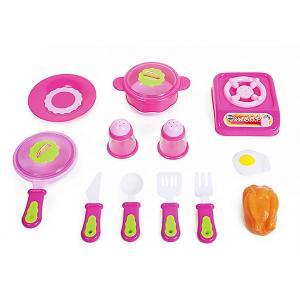 Игровой набор Altacto Вкусный ужин, 14 предметов. Цвет: разноцветный