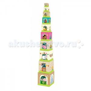 Деревянная игрушка  Пирамидка Ферма 005879 Haba