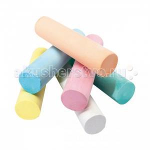 Мелки  Be-Be Super Chalk для асфальта 6 цветов Giotto