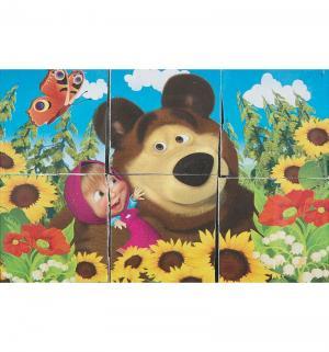 Набор кубиков  Маша и Медведь Играем Вместе