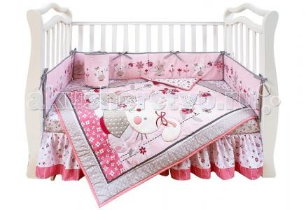 Комплект в кроватку  Shapito Bonny Bunny (7 предметов) Giovanni