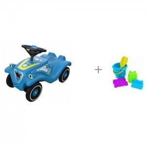 Каталка  Детская Bobby Car Classic Police и Нордпласт Набор для песка № 8 BIG