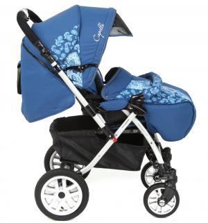 Прогулочная коляска  S-803WF Сибирь, цвет: синий Capella. Цвет: синий